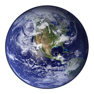 Earth, courtesy of http://upload.wikimedia.org/wikipedia/commons/2/22/Earth_Western_Hemisphere_transparent_background.png